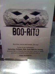 Burrito sign